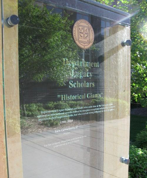 Modified Scholar's walk display